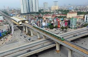 Ấn định thời gian ''về đích'' của dự án đường sắt Cát Linh-Hà Đông