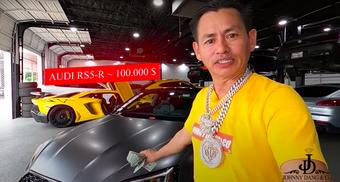 Triệu phú Johnny Đặng chứng minh độ giàu có, tặng thưởng răng kim cương, 30 ngàn đô và xe hơn 2 tỷ