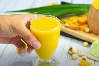 Sữa bí đỏ hạt sen dinh dưỡng tăng cân cho người gầy