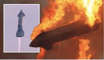 Tàu vũ trụ mới nhất của SpaceX phát nổ sau khi hạ cánh