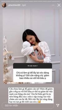 Phu nhân sếp lớn tập đoàn nghìn tỷ giảm 10kg sau sinh không cần tập luyện