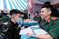 Điểm chuẩn khối trường quân đội: Những ngành ''hot'' đều 28 hoặc 29 điểm trở lên