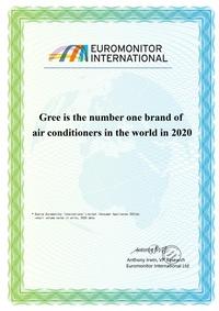 GREE đạt chứng nhận thương hiệu điều hòa hàng đầu thế giới năm 2020