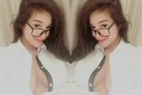 Elly Trần quyến rũ với sơ mi trắng