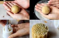 Mách bạn cách làm bánh Trung thu nhân đậu xanh bằng nồi chiên không dầu