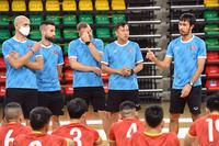 Bóng đá Việt Nam hôm nay: Futsal Việt Nam vs Panama (22h00)