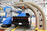 Bán tải điện Ford F150 Lightning xuất hiện trước ngày ra mắt