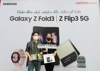 Samsung nỗ lực giao sản phẩm bộ đôi Galaxy Z đến người dùng