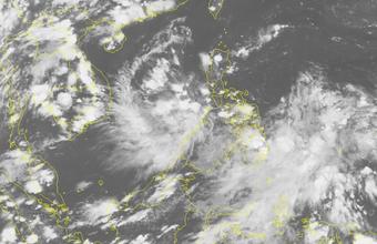 Biển Đông có thể xuất hiện áp thấp nhiệt đới cuối tuần này