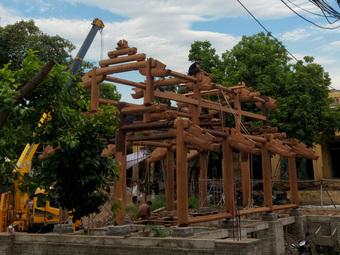 Tu bổ chùa Thổ Hà làm vỡ bia đá cổ 342 năm: Yêu cầu đặt lại vị trí cũ, rà soát toàn bộ