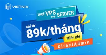 Vietnix - 10 năm xây dựng thương hiệu máy chủ chuyên nghiệp