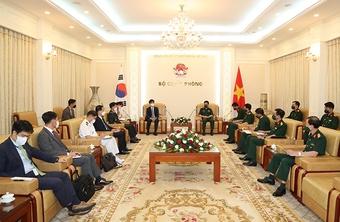Việt Nam-Hàn Quốc tăng cường hợp tác công nghiệp quốc phòng, an ninh biển,…