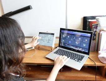 Khổ với phần mềm học trực tuyến: Liên tục bị out, lúc nghe lúc không