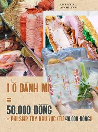 """Bánh mì """"đắt nhất Sài Gòn"""" - Huỳnh Hoa tăng giá, giao hàng bằng taxi giá hơn 100k/ổ vẫn full đơn trong 2 tuần tới!"""