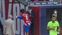 Tấm thẻ đỏ của Felix khiến Atletico chia điểm đầy tiếc nuối trước Bilbao