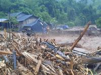 Nhiều tỉnh miền núi Bắc Bộ mưa 300mm, rà soát ngay nơi ở của người dân
