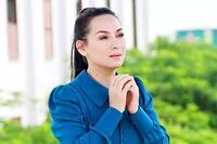 Dàn sao cầu an cho Phi Nhung trong ngày cúng Tổ nghiệp
