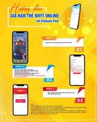 Hơn 3000 người gia hạn thành công thẻ BHYT thông qua Vietnam Post