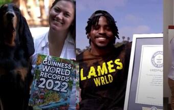 Hàng loạt thành tích kỳ lạ vào danh sách Kỷ lục Guinness thế giới