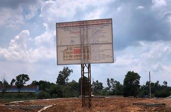 Quảng Nam: Dự án Khu phố chợ Chiên Đàn bị đưa vào diện rà soát
