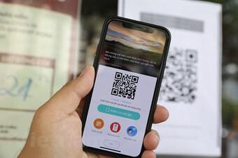 Số lượng các điểm quét mã QR kiểm soát tăng vọt tại Hà Nội
