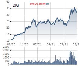DIC Corp (DIG) chào bán riêng lẻ 75 triệu cổ phiếu với giá 20.000 đồng, cổ đông lớn đăng ký mua 50% lượng phát hành