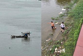 Thượng úy quân đội lao xuống sông cứu cô gái nhảy cầu tự tử