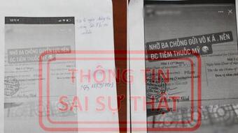 Bị phạt 7,5 triệu đồng vì khoe được tiêm vaccine nhờ ba chồng quyền lực