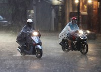 Các khu vực trên cả nước đều có mưa lớn, đề phòng xảy ra lũ quét