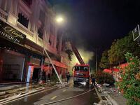 Vụ cháy shop quần áo ở Ninh Hiệp: 4 căn liền kề bị cháy trụi