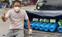 Ông chủ khách sạn ở TP.HCM kể chuyện nhói lòng khi đi chuyển bình oxy 0 đồng