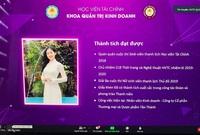 Hoa khôi Vân Anh: Thu nhập 40 triệu đồng/tháng từ thời sinh viên