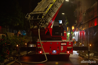 Hà Nội: Cháy lớn cửa hàng quần áo trẻ em cao cấp ở Ninh Hiệp trong đêm, nhiều tài sản bị thiêu rụi