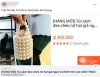 """Túi xách, dép tông Công Vinh-Thủy Tiên mang đi sao kê từ thiện """"sốt rần rần"""", giá rẻ bất ngờ"""