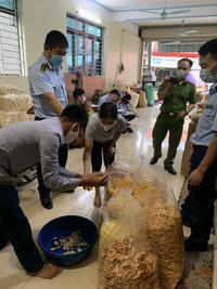 Phát hiện hàng trăm sản phẩm bánh trung thu không rõ nguồn gốc xuất xứ