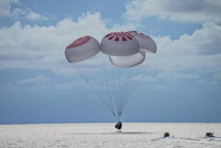 Nhóm phi hành gia nghiệp dư trở về an toàn sau chuyến vào quỹ đạo Trái Đất