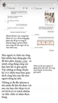 """Rich kid Chao hé lộ động thái của người nhà cô chủ shop với các """"nạn nhân"""" trong vụ tố quỵt tiền đang ồn ào"""