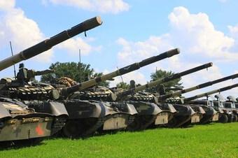 Lực lượng vũ trang Ukraine tăng cường năng lực phòng không ở miền Bắc