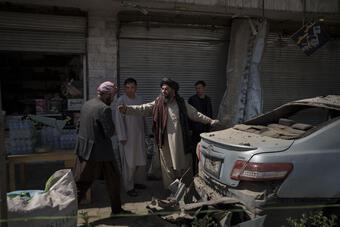 Taliban hứng đợt đánh bom chết chóc đầu tiên sau khi Mỹ rút quân