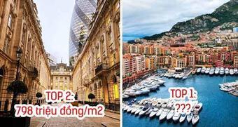 8 nơi giá nhà đắt nhất thế giới: Top 1 tiền tỷ mới mua được 1m2