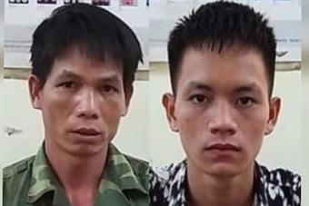Hai cha con dùng xẻng đào vàng tấn công cảnh sát ở Cao Bằng