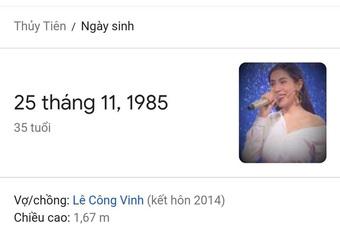 Netizen soi chi tiết tranh cãi về năm sinh của Thuỷ Tiên: Thông tin nào mới là thật?