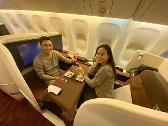 Đăng hình đi du lịch cùng vợ giữa mùa dịch, Cường Đô La viết gì mà phải sửa vội?