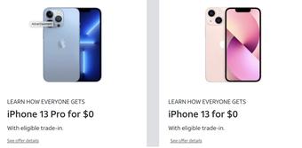 """Người Việt phải làm việc 130 ngày để mua iPhone 13 còn nhà mạng Mỹ lại đang hạy đua để """"cho không"""" người dùng"""