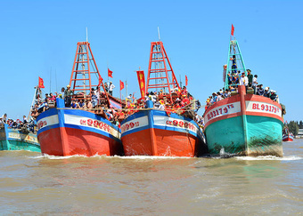 Lễ hội Nghinh Ông mang đậm văn hóa dân gian đặc sắc của ngư dân miền biển Gành Hào