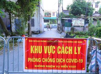 Dịch Covid-19 sáng 19/9: Hà Nội thêm 2 ca, tổng lực dập ổ dịch tại phường Việt Hưng