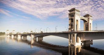 Cận cảnh phong cách Đông Dương cầu Trần Hưng Đạo gần 9.000 tỉ đồng