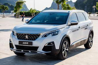 Peugeot 5008 được đại lý giảm giá sập sàn hơn 150 triệu đồng