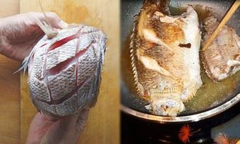 Trước khi rán, ướp chút nguyên liệu này đảm bảo cá vàng giòn, không sát chảo