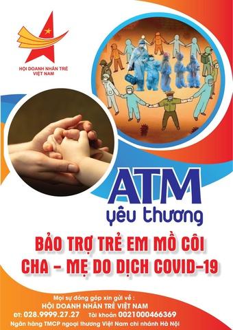 Triển khai 'ATM Yêu thương' bảo trợ trẻ em mồ côi do Covid-19 ở TP.HCM